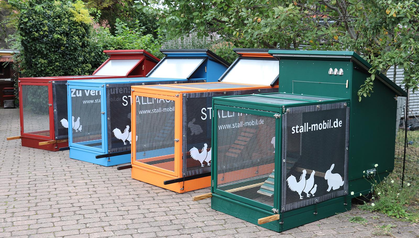 Mobile Ställe für Hühner und Kaninchen von STALLMACHER®