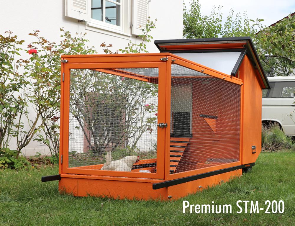 STALLMACHER Premium Mobile Hühnerställe